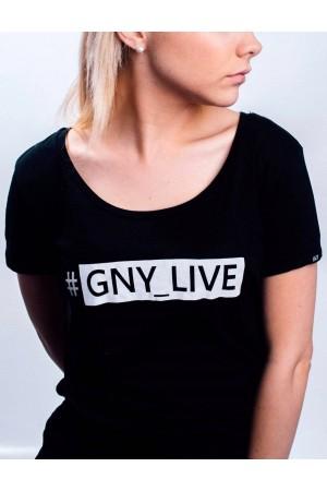 GNY_LIVE Black T-shirt